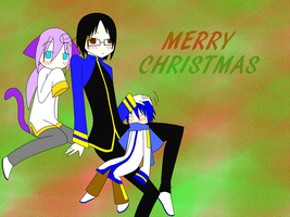 merry christmas everybody by aoito95