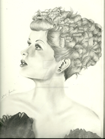 Lucille Ball by kaylinvengeance