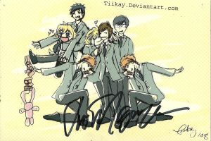 Tiikay's drawing signed by Vic by snoopgirl25