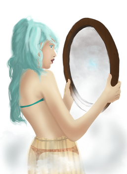 As if to reflect... by delineator-kai