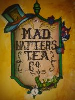 Mad Hatter Tea Co. by TimmyJHill