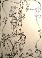 Fairy Tale  The Frog Princess by loveandpeacetotoro