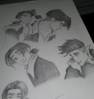 Jim Hawkins Sketches by GearsGirl6295