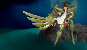 Saint seiya - BlueDream Seiya omega by Wets01