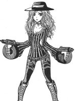 League of Leguends Miss fortune Skin by zelphie00