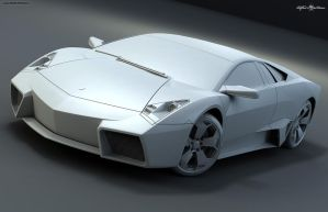 Lamborghini Reventon by JohnZi