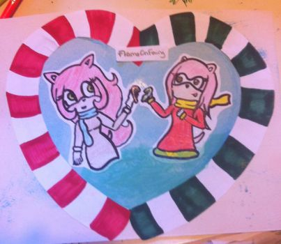 Akai/Jane X Amy Second Contest Entry by FlameOnFairy