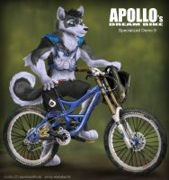 Apollo's dream bike by alphaleo14