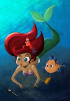 The Little Mermaid by lujus