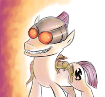 Design A Pony Contest The Dragon Trainer by megadrivesonic