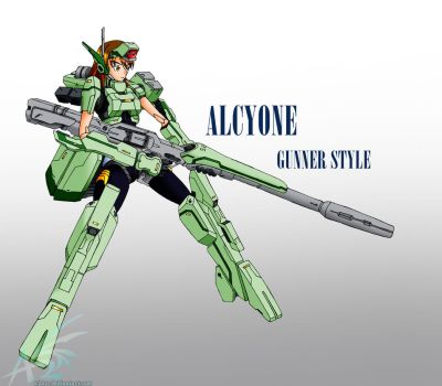 Alcyone Gunner Style by a2ure