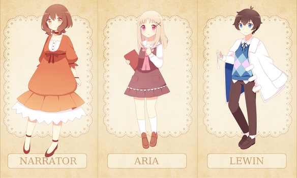 Aria's Story - Characters by TheSoundOfFreedom