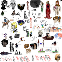 Sketch Dump Summer 2010 Part 2 by Conspiracy-Z-Cycle