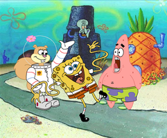 spongebob squarepants by crisrocker95