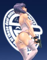 Major Kusanagi by polarityplus