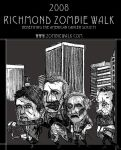New Zombie Walk Poster by MrBoris