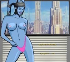 Aayla in Coruscant by cyborgBLUE