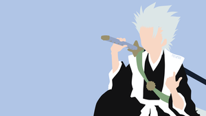 Hitsugaya Toushirou from Bleach | Minimalist by matsumayu