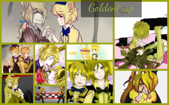 Goldentrap Collage by SoundScreecher