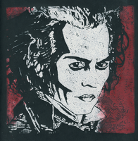 Sweeney Todd Lino Red-White by Marlenozz