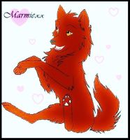 red wolf by Marmiexx