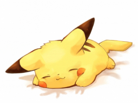 Pikachu gif animation by nadrouch