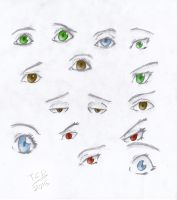 Eye Study by TheChromeDrone