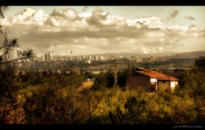 Ankara in the Horizon by PortraitOfaLife