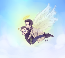 SPN - Fear of Flight by surrenderdammit