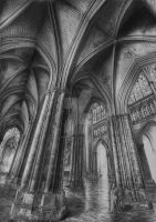 cathedral by yoru-no-kage