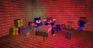 .:Ain't No Party Like a Minecraft Party:. by qalaxybutt