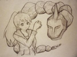 Day 11: Onix by shortpinay