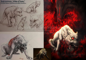 Study summary White of Desires by Lunegrimm