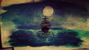 Like ships in the night by Blurredx0x