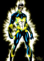 Black Lightning  by Brett Booth by RichBGuam