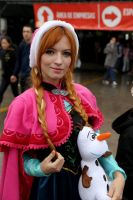 Anna - Frozen Cosplay by MishiroMirage