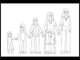 WIP: Over the Years - Lines by YellowRibbons