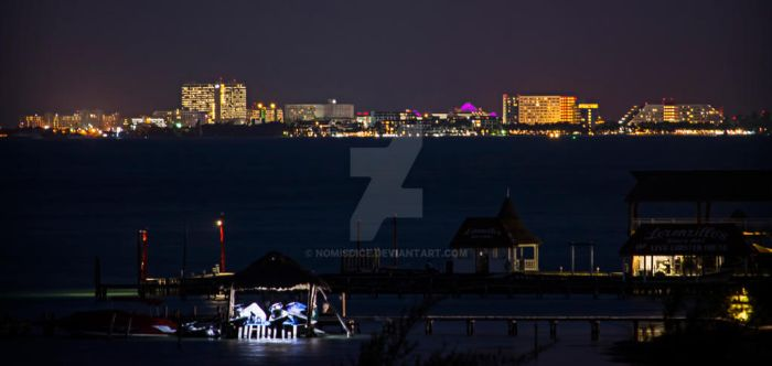 Cancun Night by nomisdice