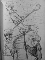 Jack Frost Sketch Dump 2 by Michi1223