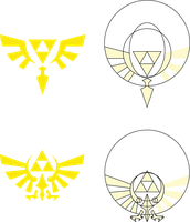 Heralds of Hyrule and Lorule by GWBinvincible