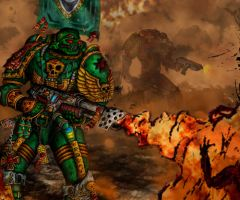 Warhammer Space Marines 1 by UEY-S
