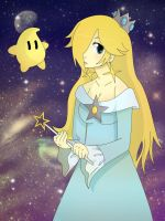 Princess Rosalina by Nintenderp23