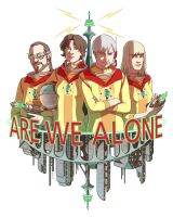 Are We Alone Portraits by spoonbard