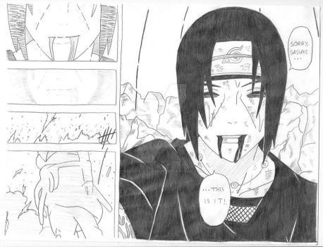 Itachi: Final Words by AncientColossus