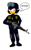 We Ain't Coming Out - Shadow as an ATF agent by Fast-Subaru71