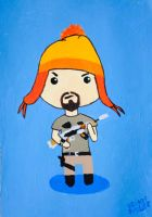 A Chibi They Call Jayne by brandimillerart