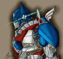 Picture a Day 283: Another Optimus by ConstantM0tion