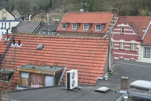 over the roofs from Valkenburg 17 by ingeline-art