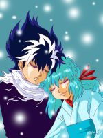 YYH: Snow Twins by claudiakat