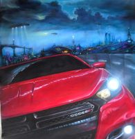 inspired by dodge dart contest traditional art by JorgeMota